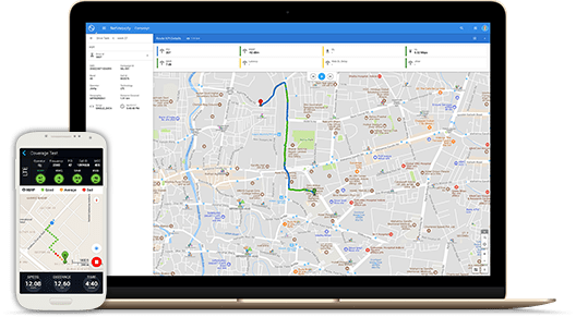 Exclusive live drive test solution for enterprise customers
