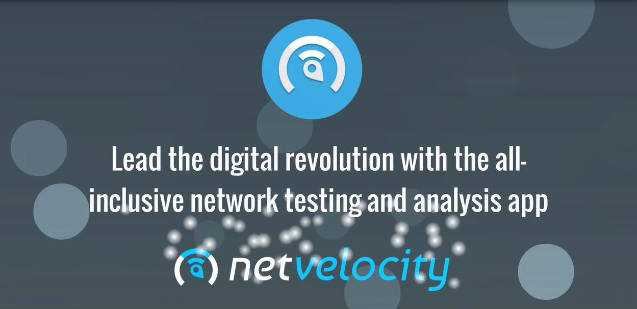 NetVelocity app - Overview video