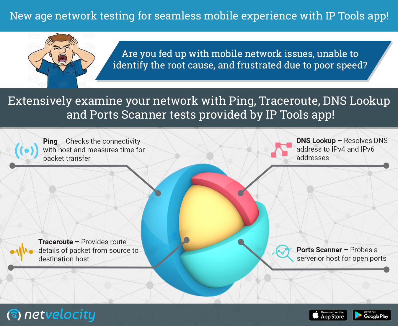 IP Tools - Network Testing app